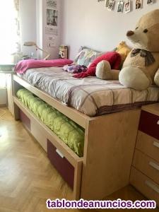 Dormitorio juvenil mujer