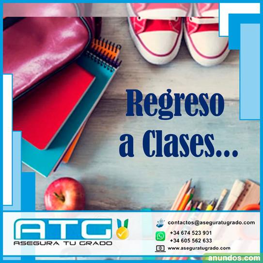 Vuelve a clases listo para tu tfg/tfm - Madrid Ciudad