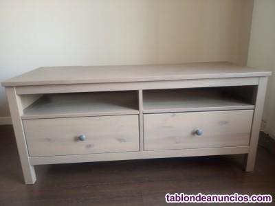 Oferta mueble para TV madera de pino marron