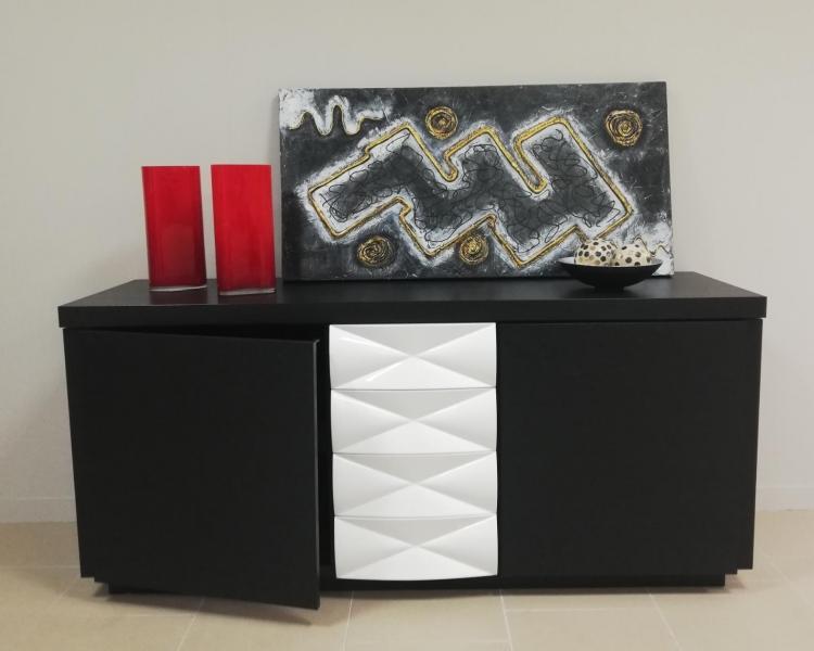 Modular / aparador / conjunto de mesa y 6 sillas