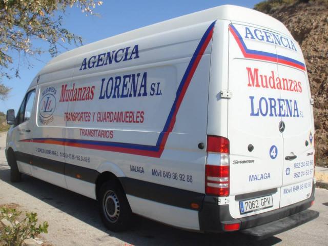 MUDANZAS LORENA,SL-GRUPAJES ATODA ESPAÑA DESDE 100€