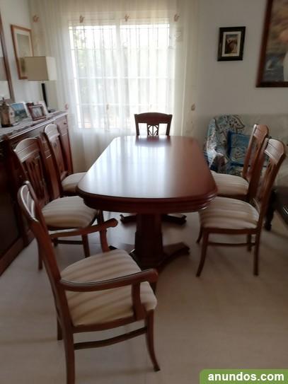 Mesa de salón con 6 sillas - San Javier