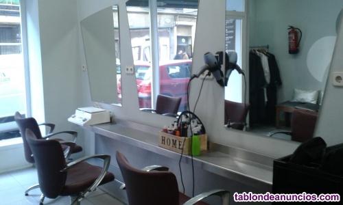 Se vende o alquila peluquería