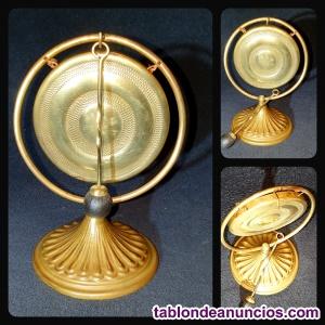 Gong Budista Tibetano genuino en bronce