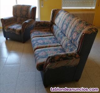 Vendo Sofa 3 Plazas y 2 Sillones