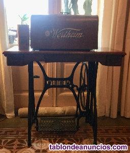 Máquina de coser antigua, wertheim