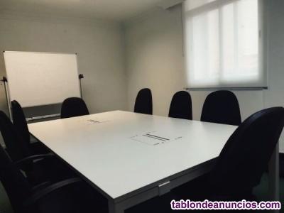 Alquiler de sala de reuniones por horas
