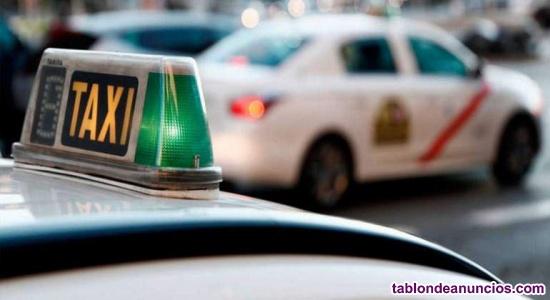 Se necesita conductor para taxi madrid
