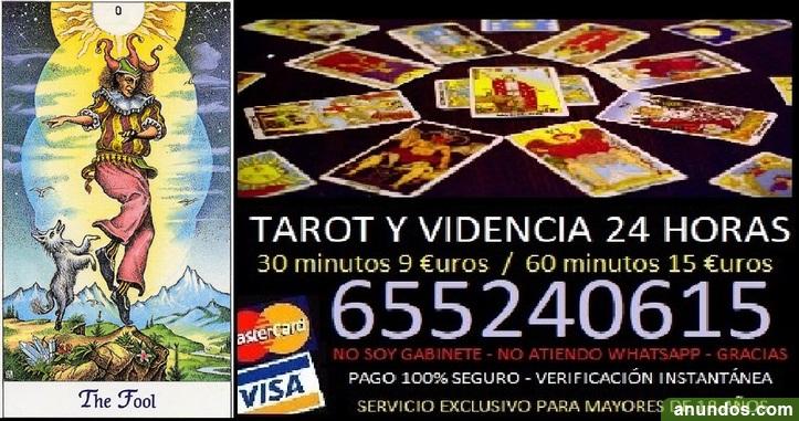 Tarot 24 horas / videncia real sin gabinetes / visa - Cádiz