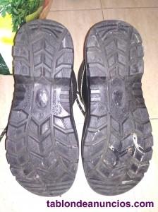 Botas de seguridad con puntas reforzadas