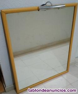 Espejo para pared rectangular (90 x 78 cm)