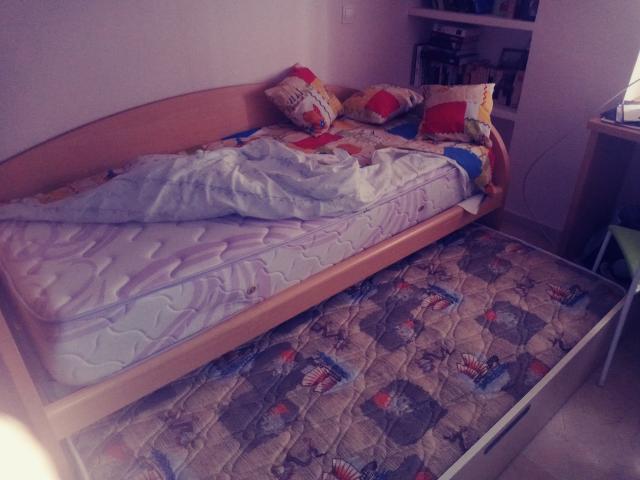 Nido. 2 camas seminuevo, muy poco uso.