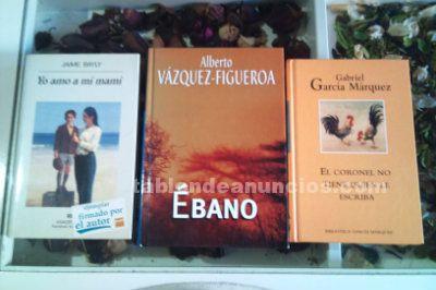 3 grandes libros de tres grandes escritores