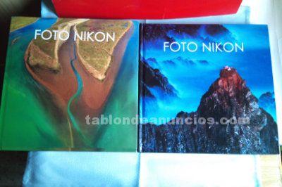 Dos libros de fotos nikon de los mejores fotografos del