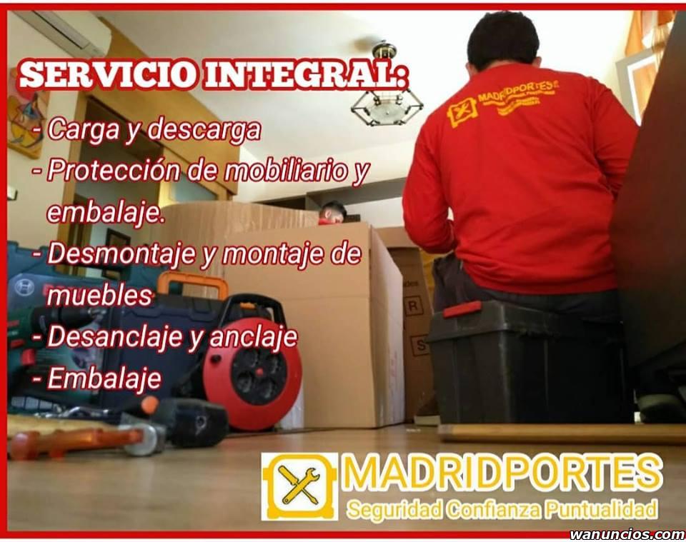 MUDANZAS NACIONALES Y LOCALES, BARATOS PARLA - Madrid
