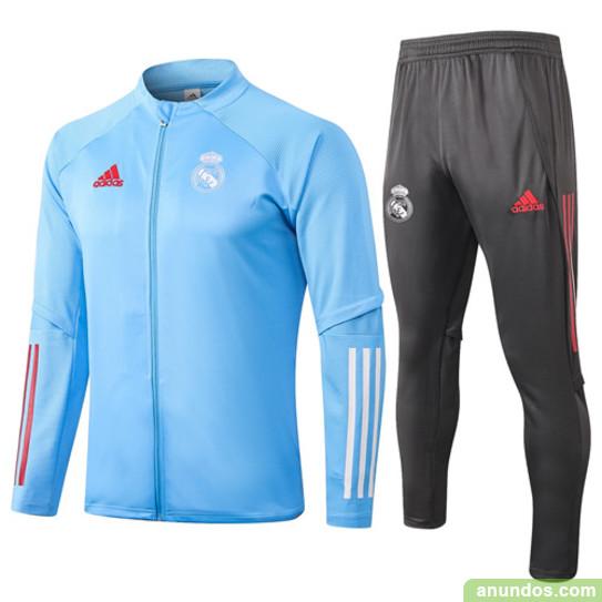 Real madrid  chaqueta y pantalone de futbol super