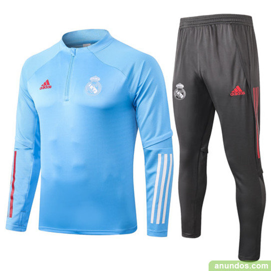 real madrid chandal de futbol con pantalone gratis