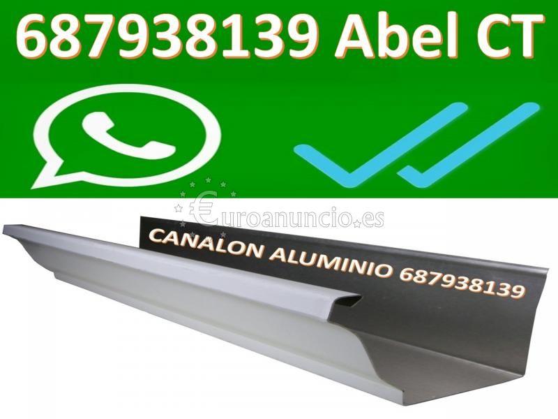 CANALON ALUMINIO CARTAGENA SAN PEDRO PINATAR SAN JAVIER