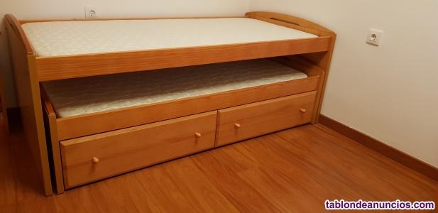 Conjunto camas nido