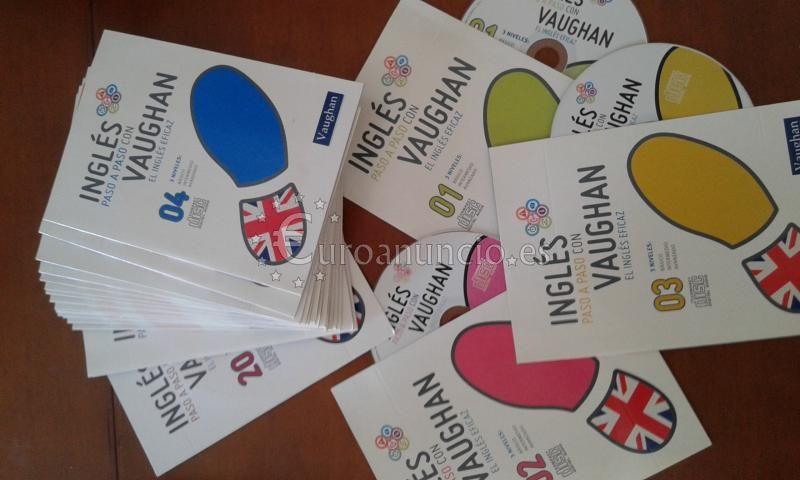 Curso de Ingles con Vaughan completo 20 libros +CD