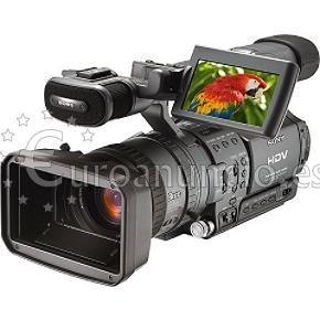 alquiler camaras de video 60 euros barcelona madrid sony hdv