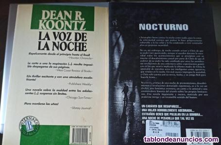 Lote dean koontz(nocturno y la voz de la noche)