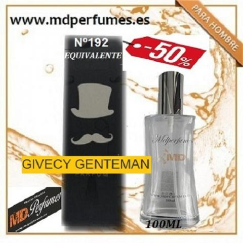 Oferta Perfume Hombre Nº192 GIVECY GENTEMAN Alta Gama 100ml