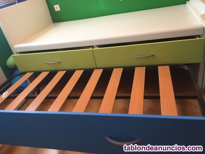 Dormitorio completo cama nido