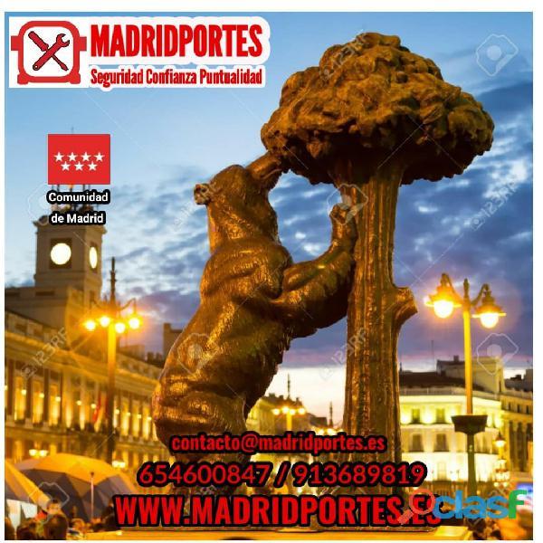 Arganzuela portes baratos → MADRIDPORTES servicios