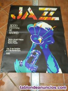 Cartel JAZZ Festival de Madrid