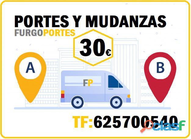 Zona Arganzuela→625700 540 Portes Baratos Mudanzas
