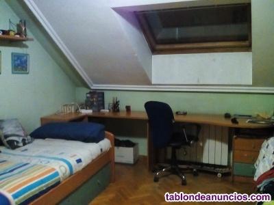 Vendo cama nido con mesa de estudio sinfonier y cajoneras