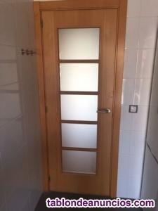 Vendo puertas de haya en muy buen estado