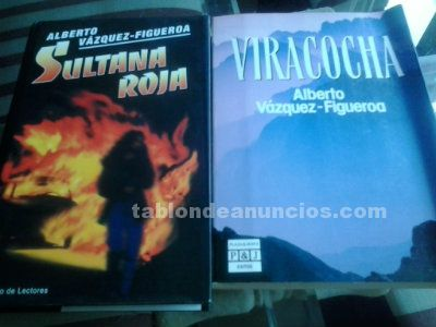 2 libros de ALBERTO VAZQUEZ FIGUEROA