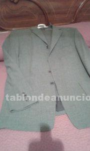 Conjunto de americana y pantalon de caballero color gris