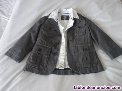 Lote de camisa y chaqueta bebé  meses (92 cm)
