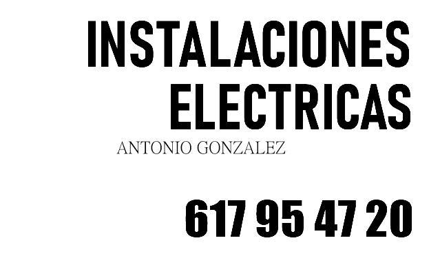 ELECTRICISTA EN LOS NEGRALES