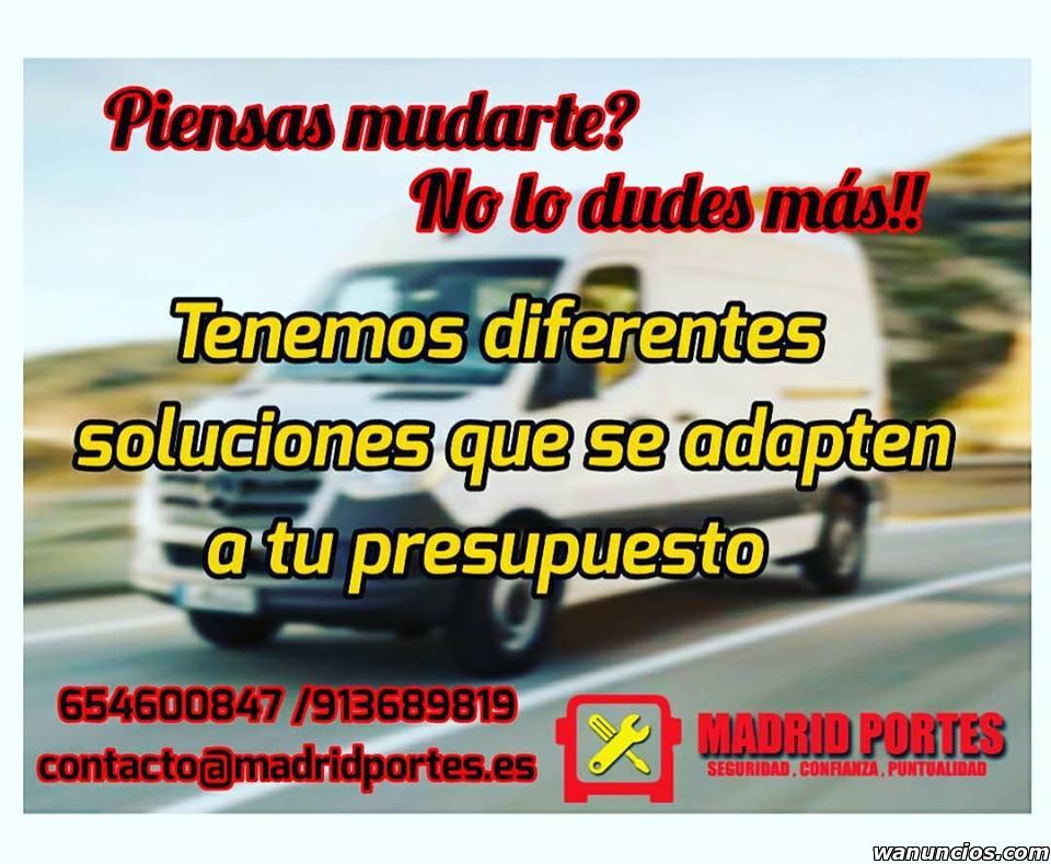 TRASLADOS ASCAO BARATAS - Madrid