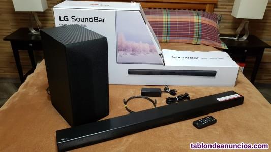 Barra de sonido lg soundbar sk4d de 300w nueva a estrenar.