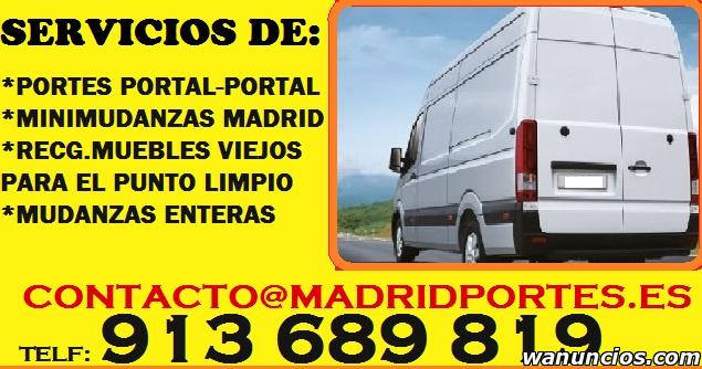 MUDANZAS VELOCES Y BARATAS EN MADRID - Madrid