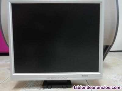 Monitor para ordenador en gris o negro