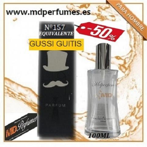 Oferta Perfume Hombre nº157 GUSSI GUITIS Alta Gama 100ml