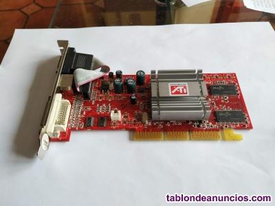 Tarjeta Grafica ATI Mb-L DDR TV DVI funcionando