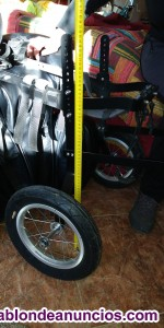 Vendo silla de ruedas para perro de 20 a 45 Kg. De peso.