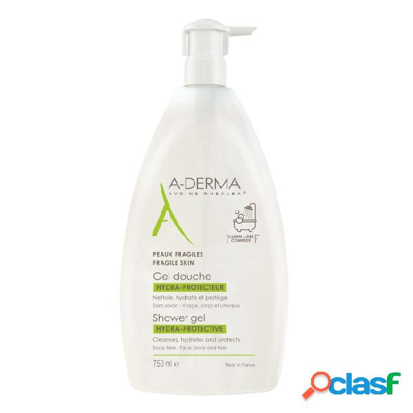 A-Derma Hydra-Protective Shower Gel 750ml