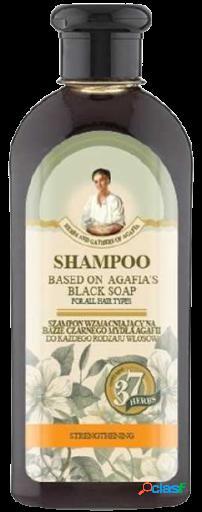 Agafja Champú negro fortalecedor para el cabello