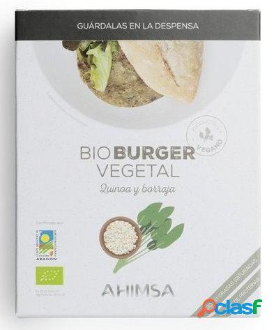 Ahimsa Burguer Vegetal Quinoa y Borraja 160 gr