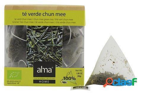 Alma Home Te Verde Eco Chun Mee 15 Unidades 30 gr
