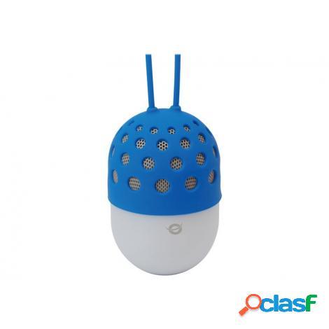 Altavoz Bluetooth Conceptronic Impermeable con LUZ LED 3W