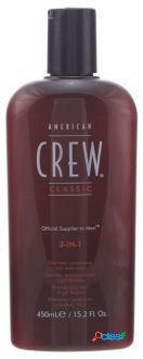 American Crew 3 en 1 de 450 ml 450 ml